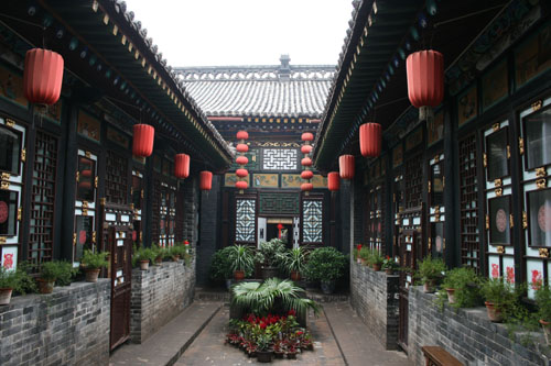 Ping yao famille sechi for Architecture chinoise